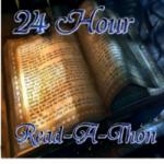 Logo for Dewey's 24-Hour Readathon